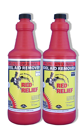 Pro's Choice Red Relief the best Kool Aid stain remover
